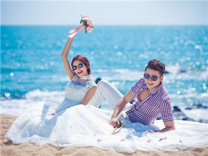 大�_北婚�旅游式拍照