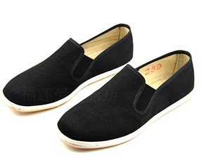 福��凼止てr麻布鞋�鹘y黑色布鞋��特工�