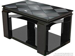 炉旺御典气电商务茶几——黑-金色方块(1380mm)