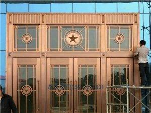 战氏铜门安装案例