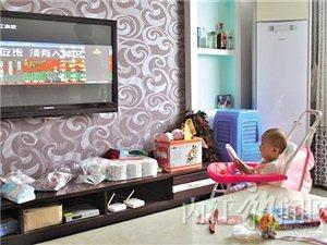如何是好?一岁婴儿迷上电视