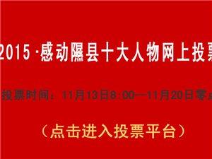 2015・感动隰县十大人物投票通知