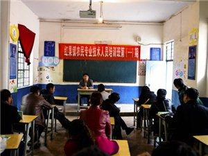 红果镇举办农民专业技术培训班