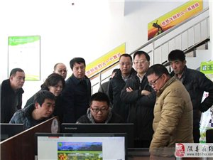 临汾市委常委、纪委书记刘予强专题调研隰县电商工作