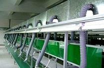 多工位集中式焊烟粉尘处理,保证车间洁净如新