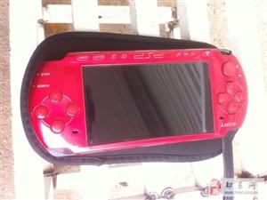 红色PSP3000一台。16G卡,原装电池,原装
