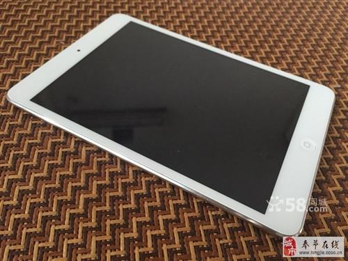 出iPadmini2国行64g白色9新还在保修