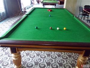 出售标准英式台球桌斯诺克桌子全套一张9成新