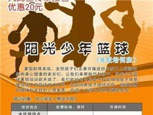 阳光篮球培训为广大篮球爱好者服务!