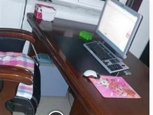 便宜出售大班台电脑桌1.6米一张