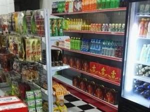 转让95成新双门冰柜 货架收银台