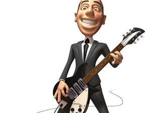 零點吉他培訓室
