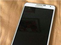 自用白色三星N9006手机(Note3)一部