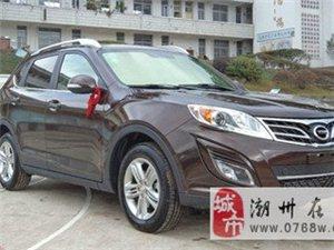 九成新广汽传祺GS5越野车仅卖一万元
