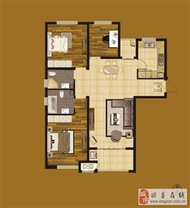 B-6#B-8#三室��d�尚l (建筑面�e:121.32�O)