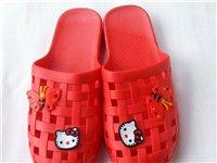 出售十对38码红色女式拖鞋