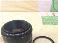 急转9.9成新佳能50mm.f1.8大光圈镜头