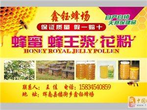 自家蜂场出售各种蜂产品 保质保量 假一罚万