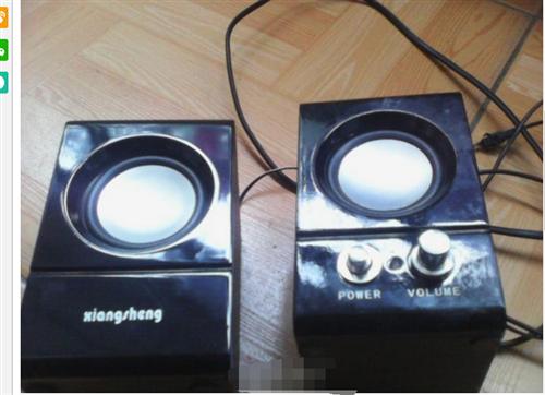 九成新英雄牌电脑音箱