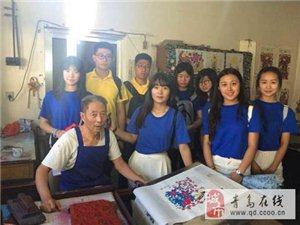 """艺术学院""""探风筝文化 传民族经典""""暑期社会实践活动"""