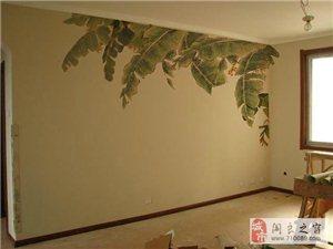 承接手绘墙电视墙,3D墙绘,出售装饰画油画国画
