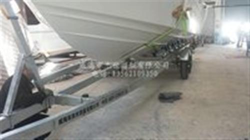 12米長特制訂做大型載重船用拖車