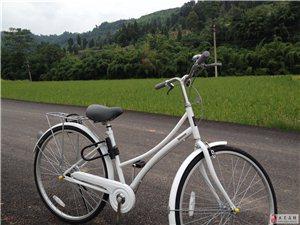 出:7月26買的原價498元白色捷安特休閑車一輛