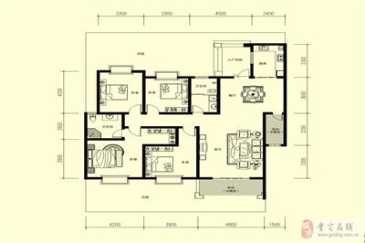 3室2厅2卫1厨;(151�O)