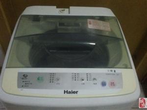 招远搬自用海尔洗衣机出售,9成新,出售价500元。