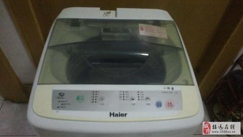 招遠搬自用海爾洗衣機出售,9成新,出售價500元。