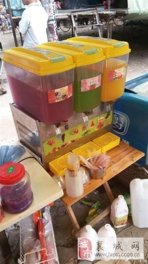 转让三缸果汁机-1500元
