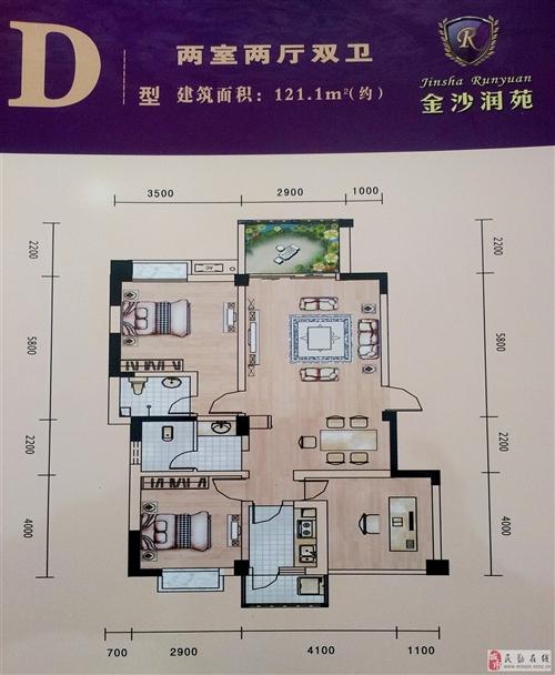 D型 两室两厅双卫