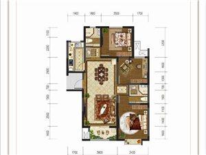 大河时代C户型 三室两厅两卫