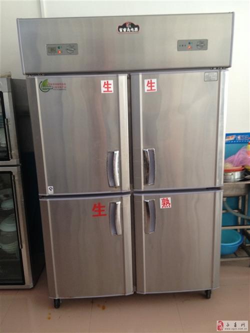 99成新富雪岛大四门冰箱一台出售