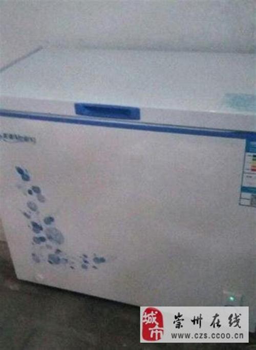 美菱冰柜加一个保鲜展示柜