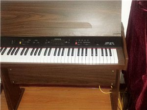 出售全新纯胡桃木电子琴