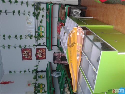 便宜处理干果柜水果架冰箱收银台