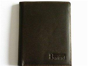 厂家直销香港品牌Benise正品高档男士真皮钱包手