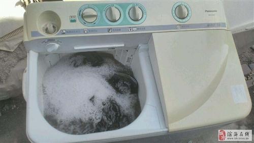 松下大容量洗衣機正常使用中