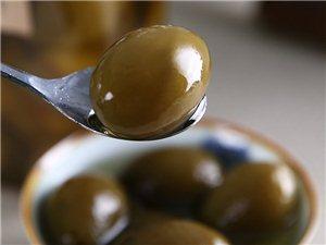 秘制橄榄润喉止咳孕妇零食茶桌零食酸甜