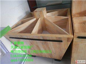 天津超市木質貨架 木制米糧桶 糧食架 米斗 五谷雜