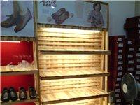 出售鞋店展示鞋柜12节,95成新,全实木,原木色!