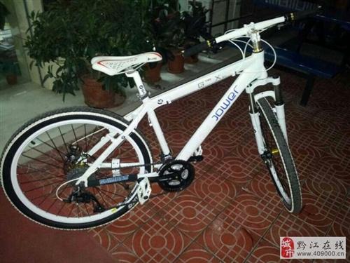 出售8成新宝马自行车