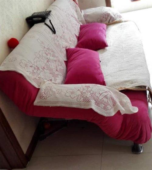 超低价转让9成新沙发床,急!