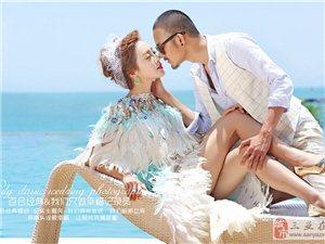 三亞百合經典婚紗攝影幸福海岸蜜月婚紗照主題套系