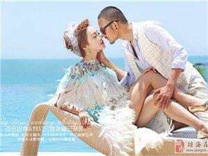 琼海百合经典婚纱摄影幸福海岸蜜月婚纱照主题套系