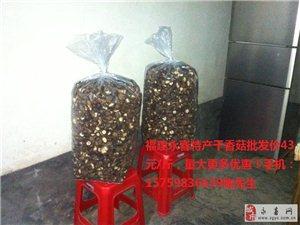 福建永春特产大量干香菇热卖中!