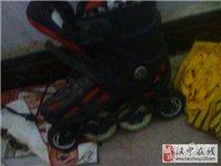 八成新平花溜冰鞋 - 80元
