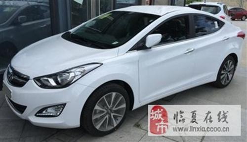 出售二手現代朗動1.6L自動尊貴型轎車