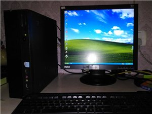 公司用的联想电脑,迷你小机箱